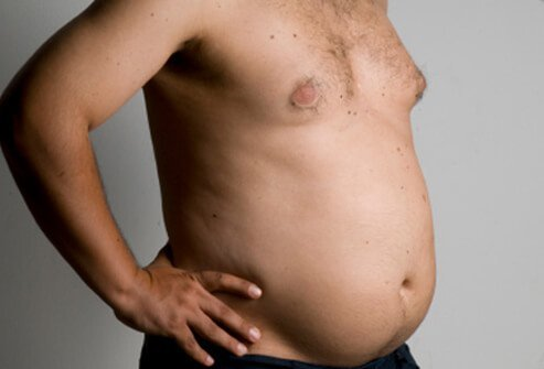 Although breast cancer is uncommon in men, it is possible.