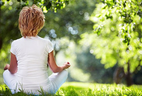 Meditate your way to more feelings of peace and contentment.