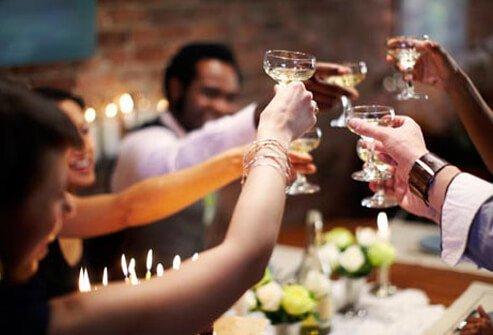 Women who drink moderately stand a higher risk of breast cancer and bone fractures.