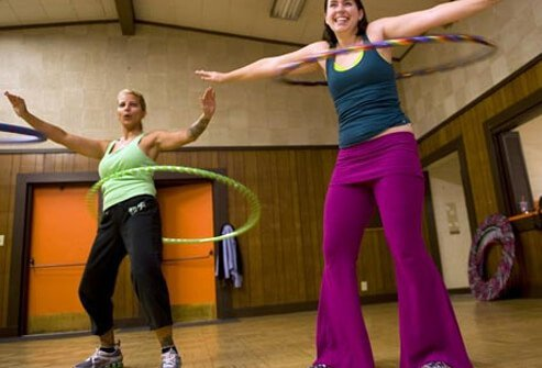 If the last time you swung a hula hoop was in fourth grade, it's time to give it another whirl.
