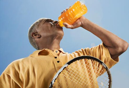 Although the main design for sports drinks is to help individuals replenish fluids quickly, many of them contain lots of sugar.