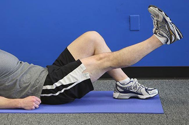 If your knee's not at its best, start with a simple strengthening exercise for your quadriceps, the muscles in the front of the thigh.