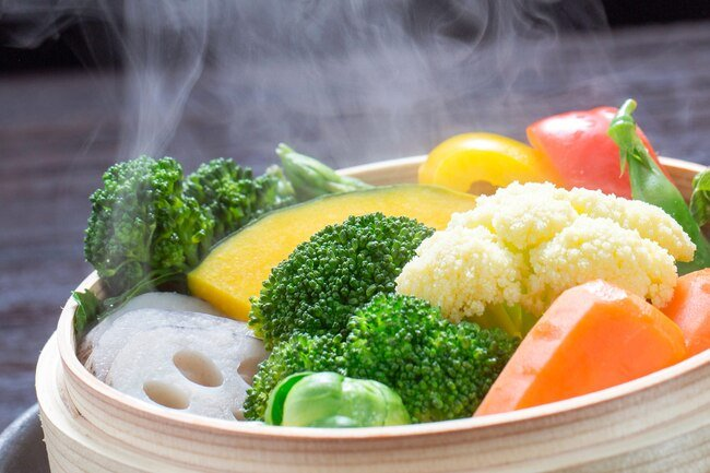 Include a wide variety of vegetables in your daily diet.