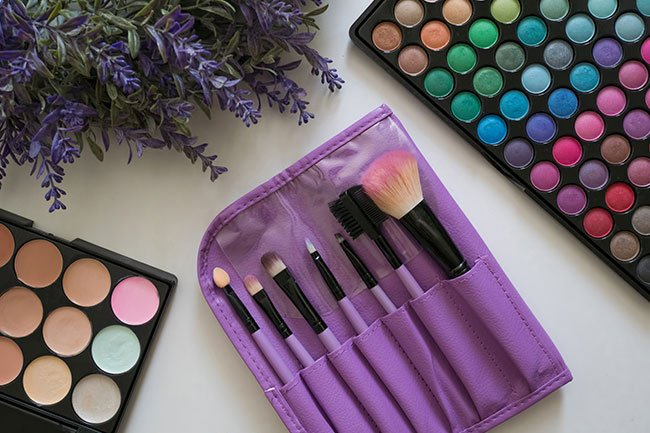 Makeup brushes and other tools accumulate bacteria, oil, and skin cells as you use them.