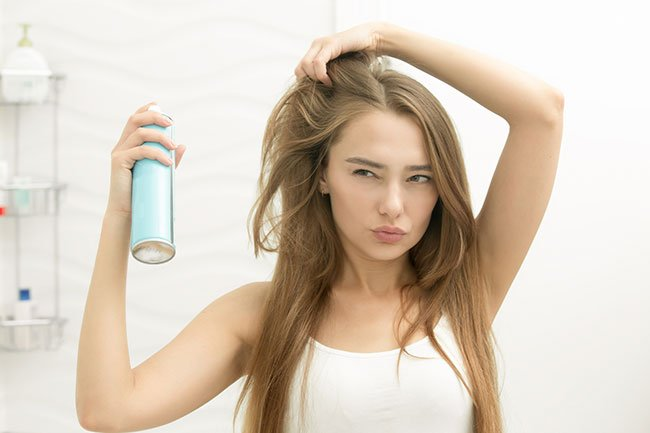 If you develop acne along your forehead, hairline, or the back of your neck, hair care products may be to blame.