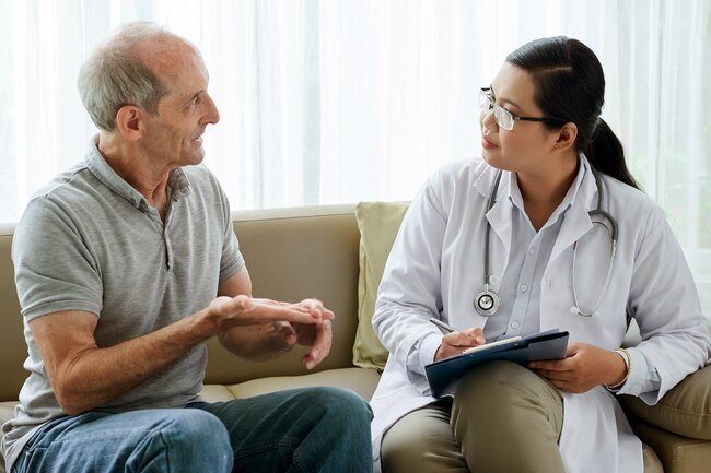 If you aren't sure if what you're going through is just regular aging, a doctor can help you figure it out.