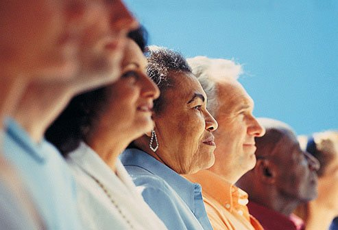People tend to get more active politically in later life.