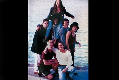Cast of MTV's The Real World in 1994.