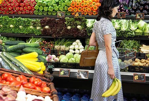 Vegetables and fruits have lots of antioxidants.