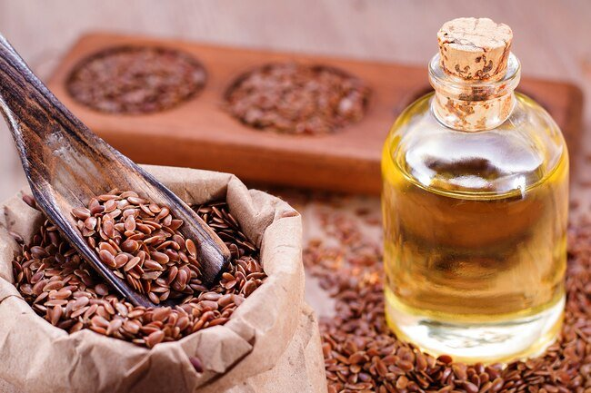 Beneficial oils in flaxseeds may be beneficial for the heart and blood vessels.