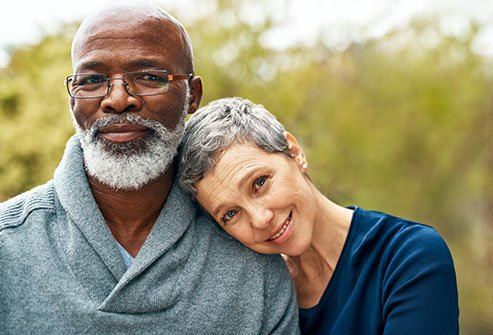 Gray hair is a normal part of aging.