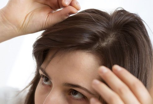 Plucking gray or silver hair will cause new strands to grow in its place.