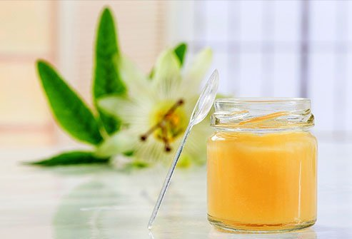 Royal jelly is superfood for bees.
