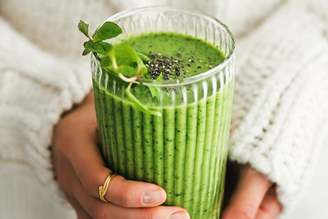 Matcha can also be added to your smoothie.
