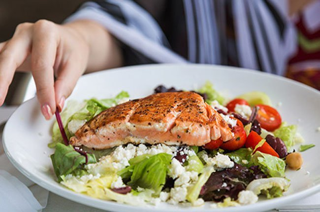 Go for foods that fight inflammation, like those in the Mediterranean diet.