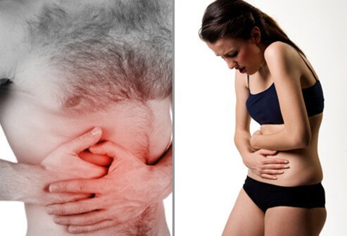 The main symptom of appendicitis is abdominal pain.