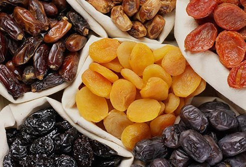 Bacteria love dried fruit, which sticks to your teeth.