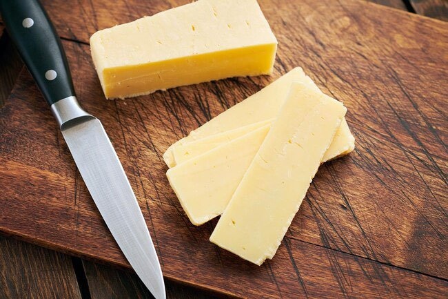 If you're counting calories, don't count out cheese just yet.