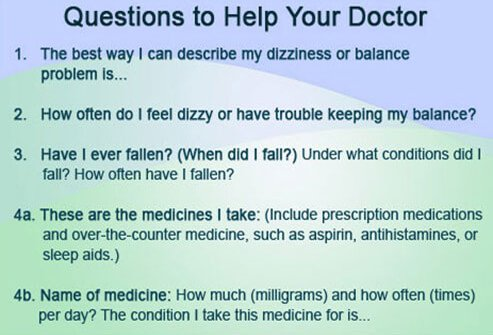 Questions to ask yourself can help your doctor make a diagnosis.