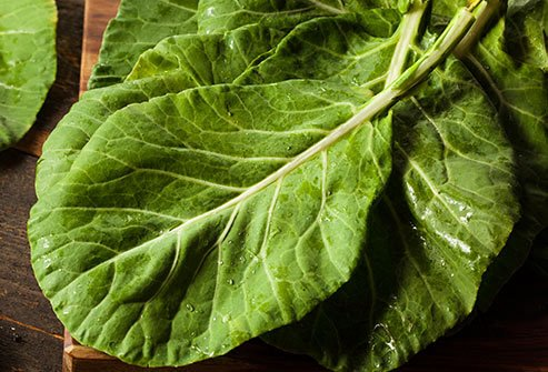Dark leafy greens can help you avoid magnesium deficiency.