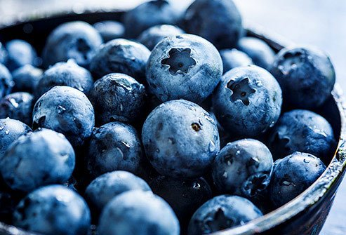 Red, blue, and purple anthocyanins may help lower blood pressure.