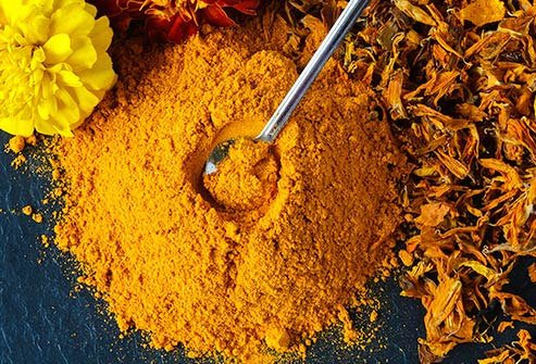 Deep yellow curcumin is a potent inflammation fighter.