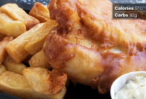 Photo of fried fish.