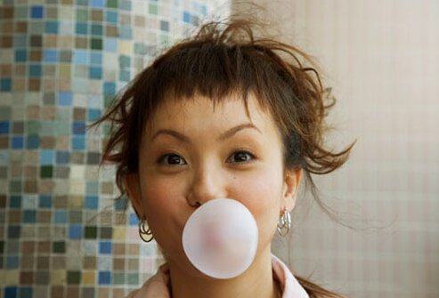 Chewing sugar-free gum can help with cravings and help reduce hunger.