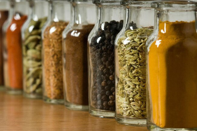 Spices help you stay healthy through the years.