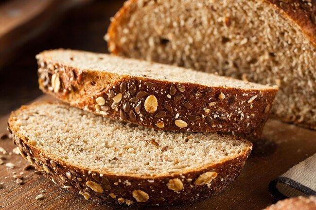 Whole grains are a great source of fiber and rich in B-vitamins.