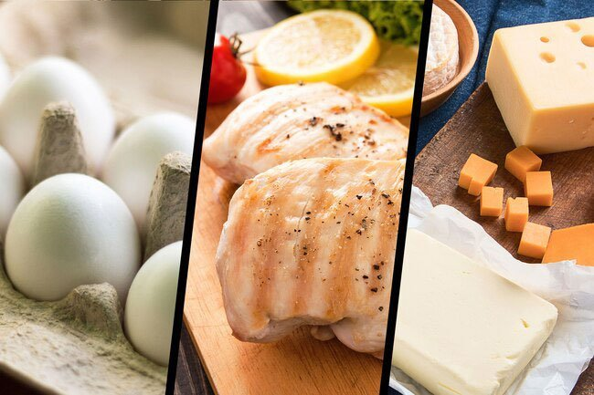 Protein-rich foods fight the natural muscle loss that happens as you get older.