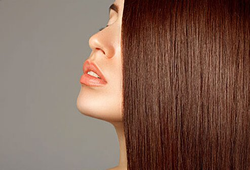 Many people believe that more layers and angles make hair look fuller.