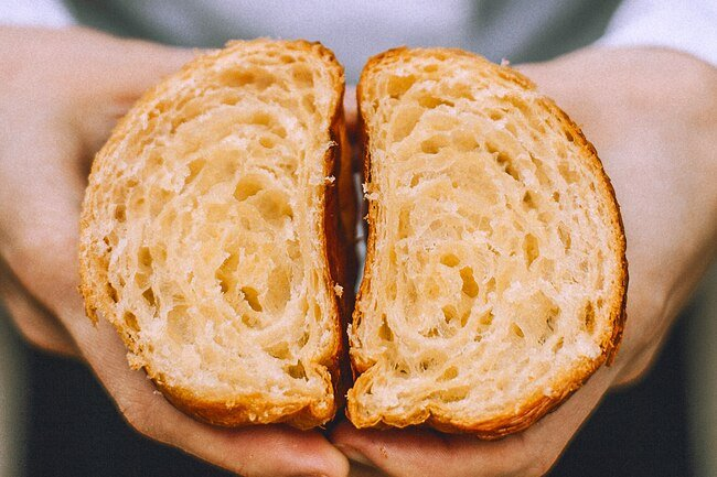 Eat fresh bread within a week or freeze it so it does not go stale.