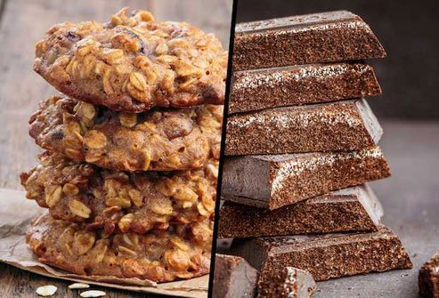Skip sugary snacks that will energize but then crash you.