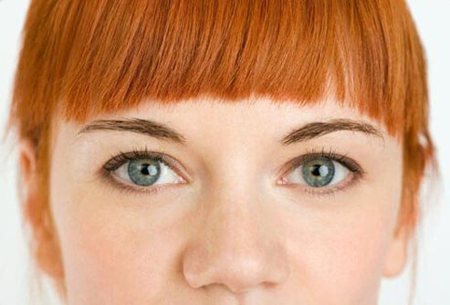 Photo of red haired woman.