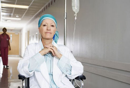 A chemotherapy patient.