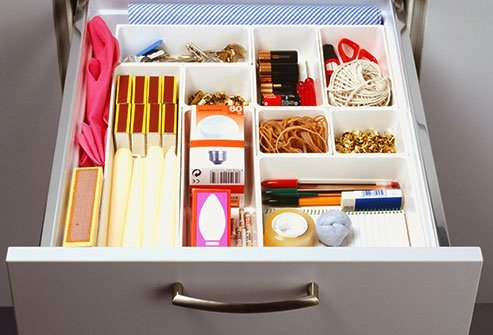 There's no need to get rid of your junk drawer. But clear it out when it gets too crazy to be useful.