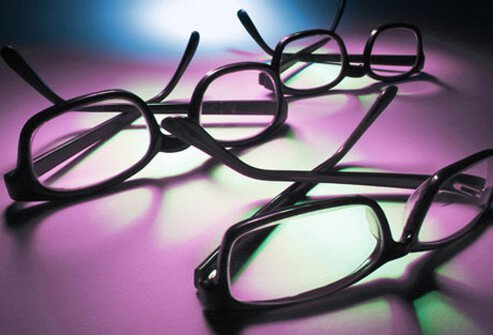 Photo of eyeglasses.
