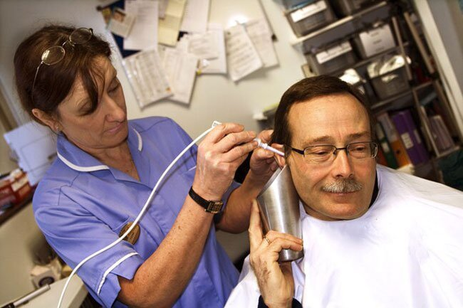 Sometimes the cause of hearing loss is relatively straightforward.