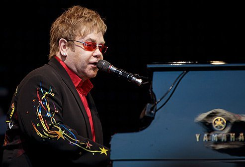 Elton John recovered from a decade of alcohol and cocaine addiction.