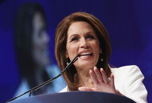 Photo of Michele Bachman.