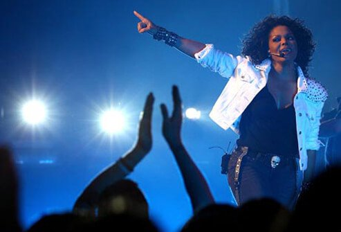 In 2008, singer Janet Jackson canceled a string of concerts after suffering from vestibular migraine headaches.