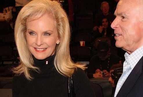 Cindy McCain has described her migraine pain as torture.