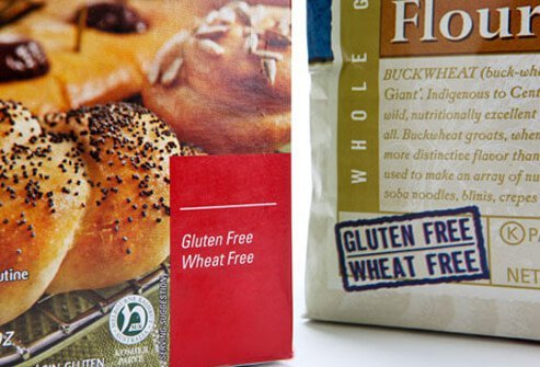 Photo of gluten free foods.