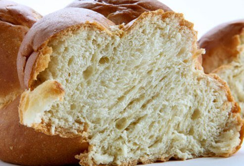 Photo of challah bread.