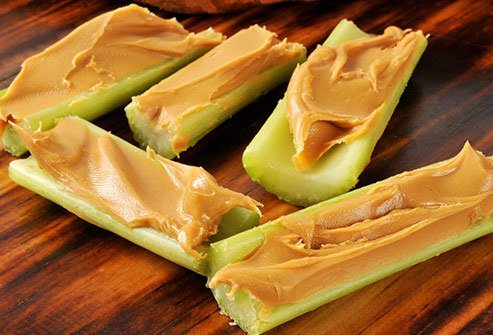 Peanut butter has potassium and even some fiber.