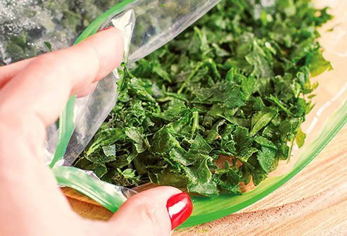 Spinach, kale, collards, and turnip greens are low in calories and full of nutrients like folate, iron, fiber, magnesium, calcium, and vitamin C.