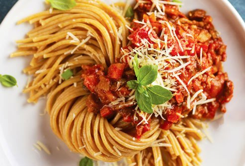 Pasta gets a bad rap, but in a reasonable portion, it can be part of an affordable, healthy meal.