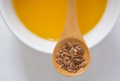 Flaxseeds and flaxseed oil.