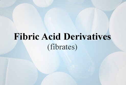 Fibric acid derivatives (fibrates) lower blood triglyceride levels by inhibiting production in the liver of VLDL and speeding up the removal of triglycerides from the blood.